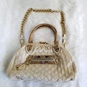 Marc Jacobs Quilted Stam Phytron Straps Bag